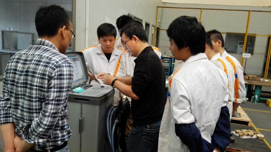 斯派克移动便携式光谱仪TEST成功安装案例