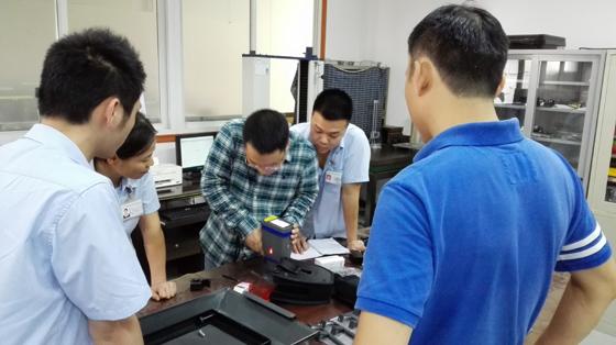 斯派克手持式光谱仪成功案例---福建某企业