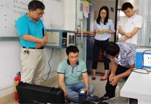 某大学斯派克手持光谱仪安装现场案例