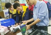 深圳某五金企业成功安装斯派克手持式光谱仪成功案例