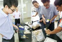 某省药品研究院手持式分析仪在药品方面检测的成功案例