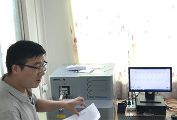 三水某锌业安装斯派克台式直读光谱仪成功案例