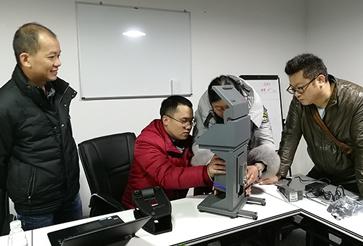 刚果一采矿公司购买小型台式光谱仪在仪德公司培训成功案例