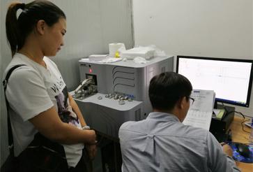 东莞某锡业有限公司直读光谱仪成功案例