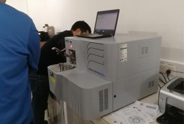 佛山市XX企业购买直读光谱仪安装成功