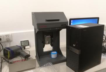 佛山市XX企业购买小台式荧光光谱仪安装成功