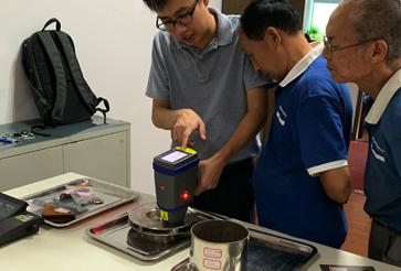 XX泵业集团手持式合金分析仪成功案例
