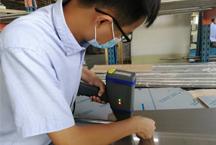 手持式合金分析仪在洗碗机厂家测不锈钢材料的应用
