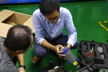 佛山XX模具钢厂购买手持式光谱仪成功案例