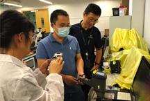南方XX大学手持式荧光光谱仪成功案例