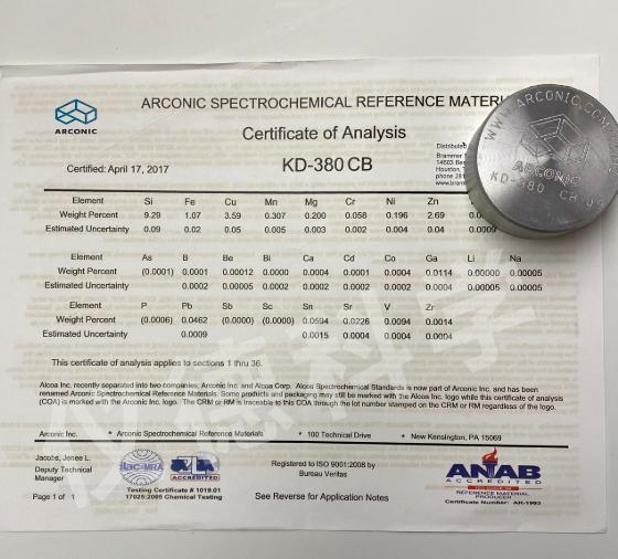 铝合金AA KD-380