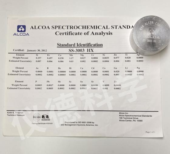 铝合金AA SS-3003